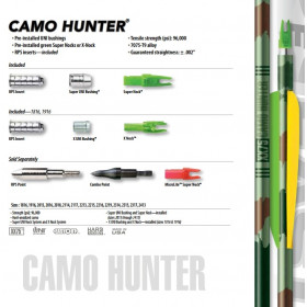 Tube camo hunter BS XX75 de EASTON