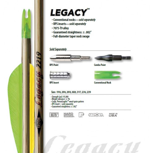 Tube LEGACY de EASTON
