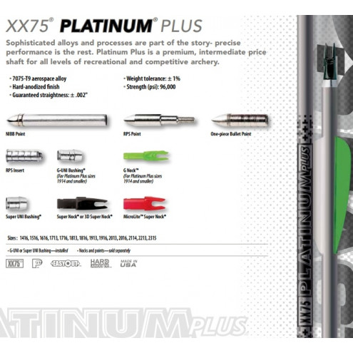 Tube PLATINUM Plus de EASTON
