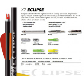 Tube Alu ECLIPSE X7 EASTON