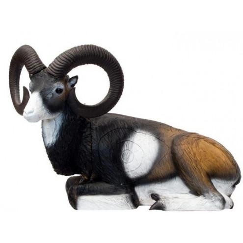 Mouflon couché