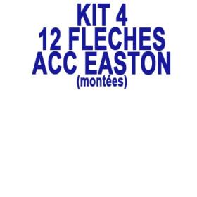 KIT 12 Flèches ACC EASTON