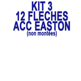 KIT 12 Flèches ACC EASTON