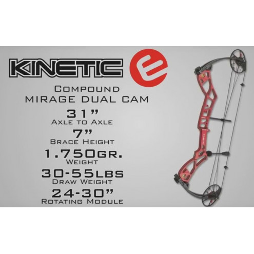 ARC MIRAGE DUAL CAM de KINETIC