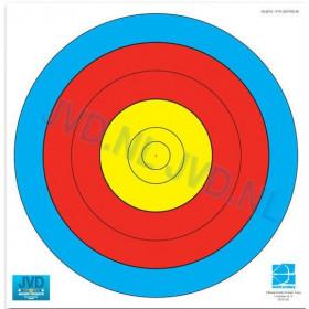 Blason 80cm 5 zones