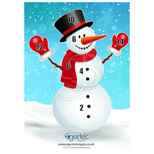 NOEL bonhomme neige de EGERTEC
